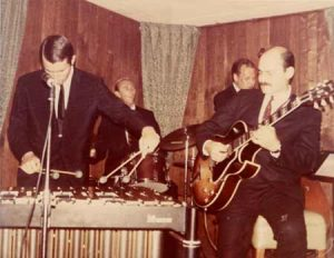 Charlie Shoemake with Joe Pass, Colin Bailey and Jim Hughart in 1967.
