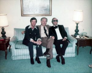 Charlie Shoemake with Nelson Riddle and George Shearing.